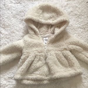 Carters baby teddy bear jacket